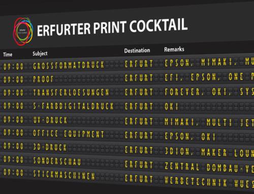Erfurter Print Cocktail vom 14. bis 16.6.2016