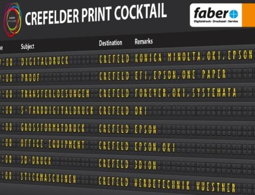 Crefelder Print Cocktail vom 30.8. bis 1.9.2016