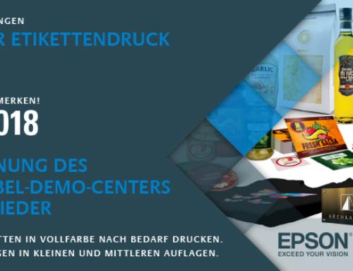 EINLADUNG – RGF eröffnet für seine Mitglieder: »Demo Center & Show Room Digital Label Printing«